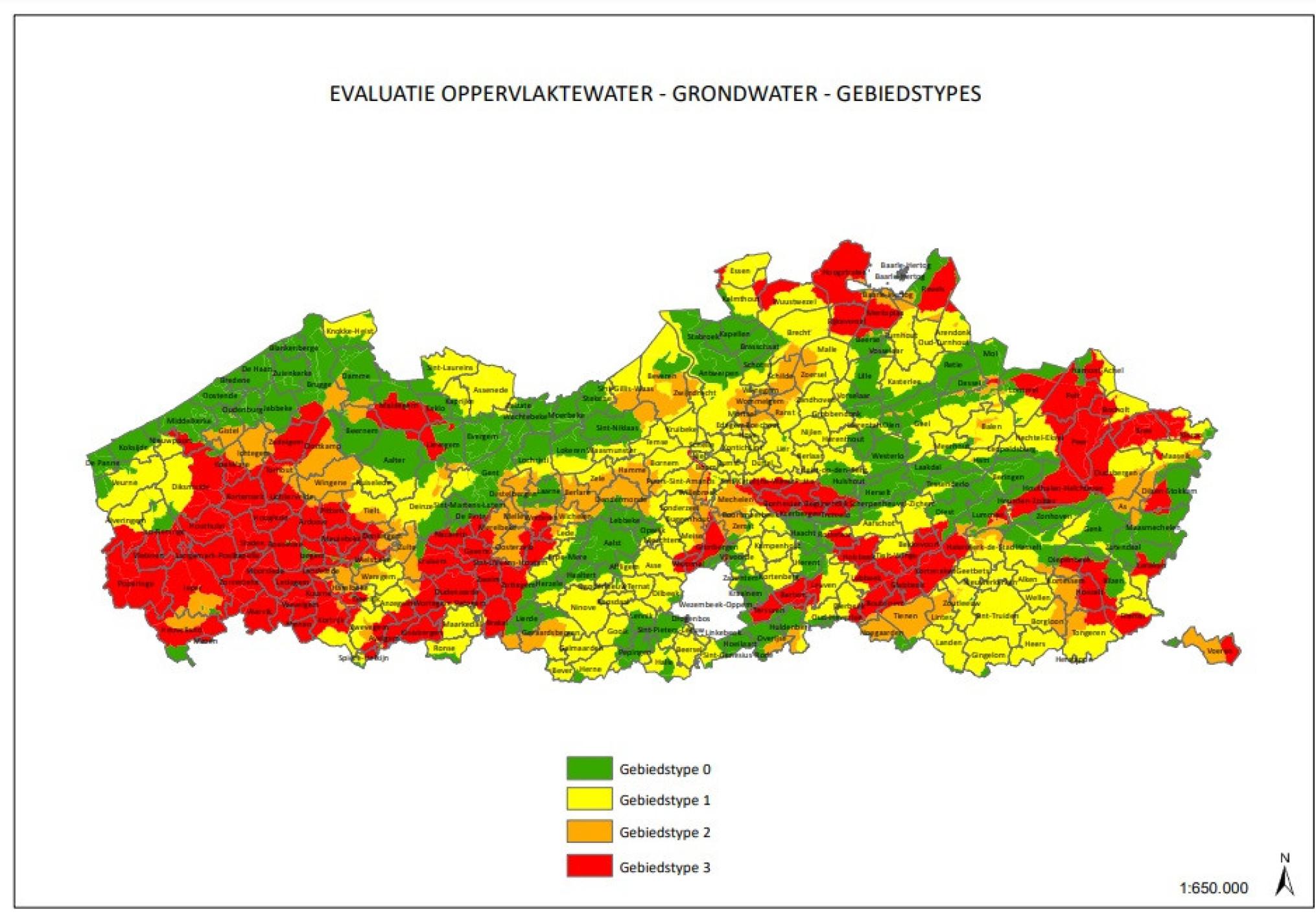 VLM-gebiedstype-waterkwaliteit
