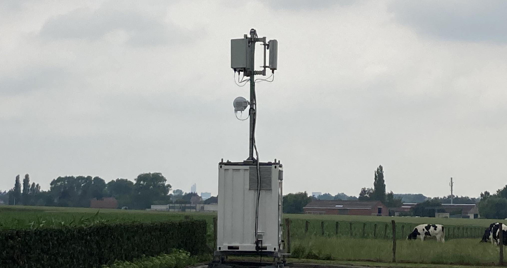 mobiele zendmast proximus 5G_Matthias Vanheerentals