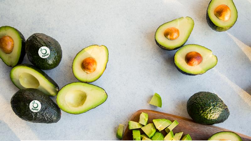 Sfeerfoto avocado's apeel