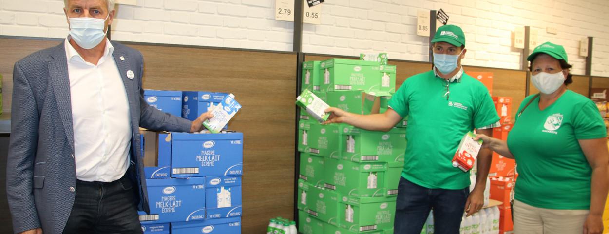 Actie melkprijs lage melkprijs Aldi