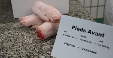 varkenspoten valorisatie verre export