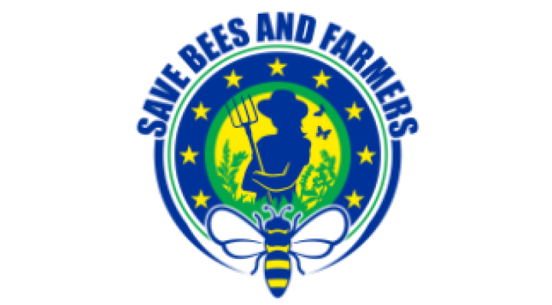 logo farmers and bees