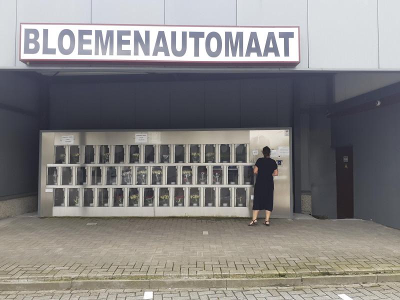 Bloemenautomaat scheers