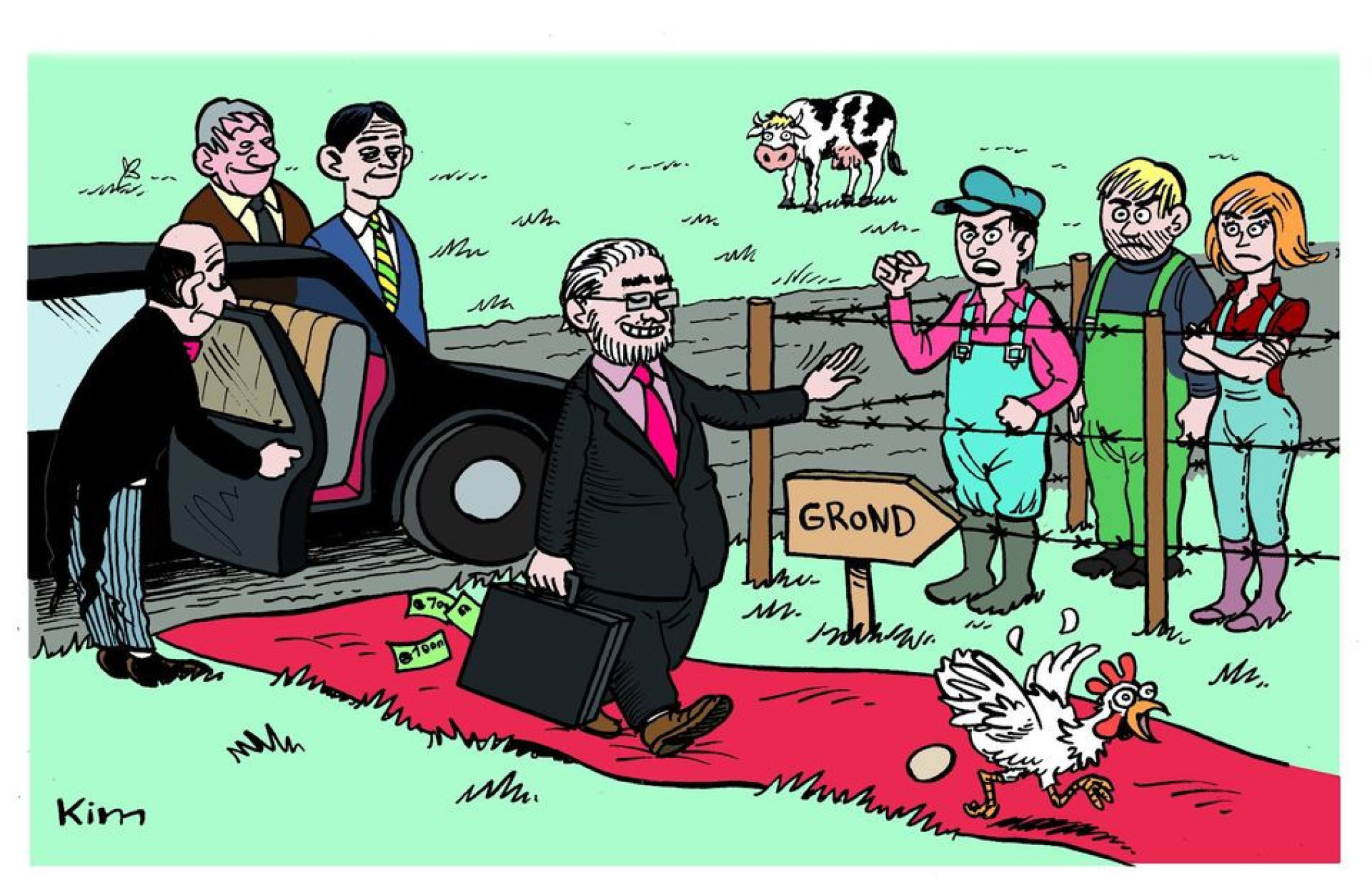 cartoon boerenforum boerenstrijddag