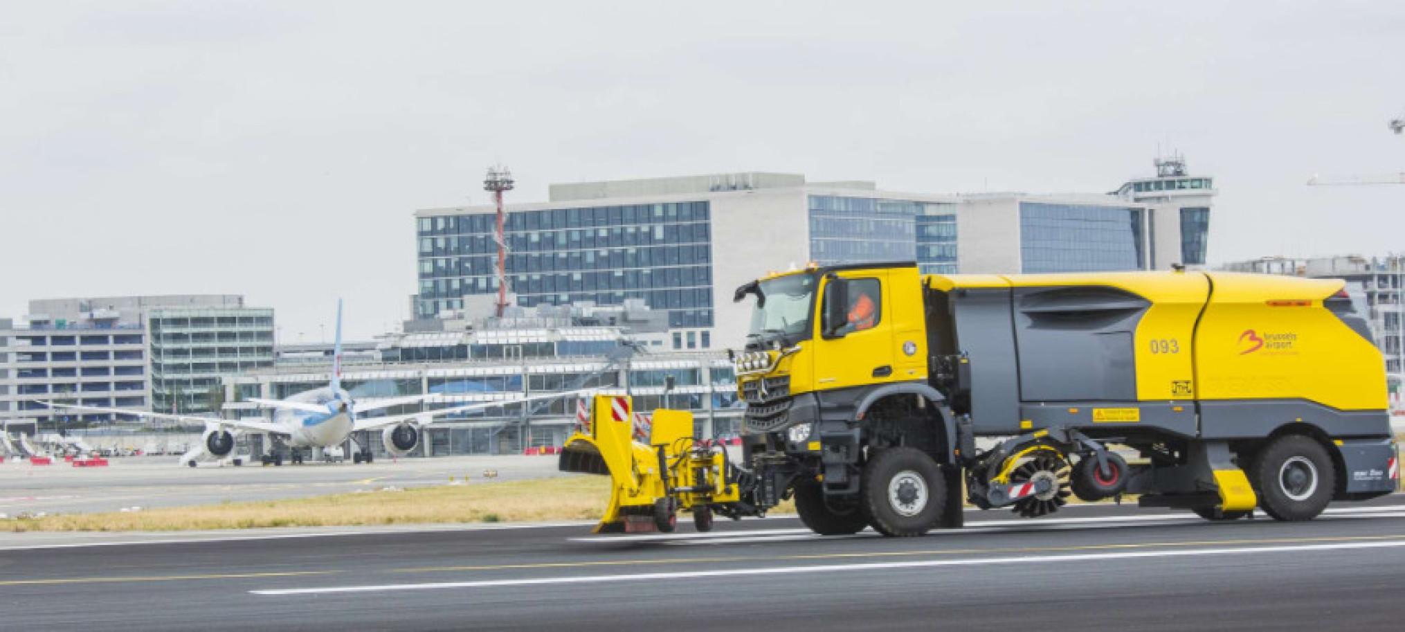 winterstrooidienst luchthaven_Hectares